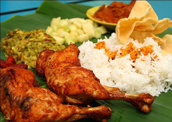 alluring banana leaf rice (2)